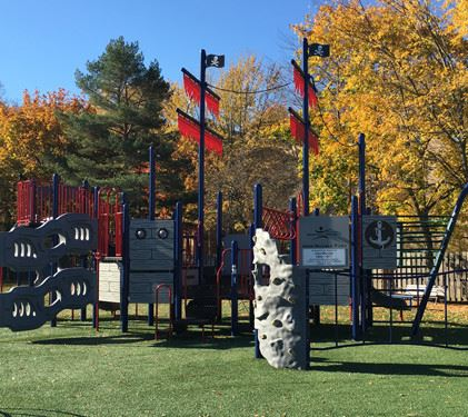 pirate themed playground equipment